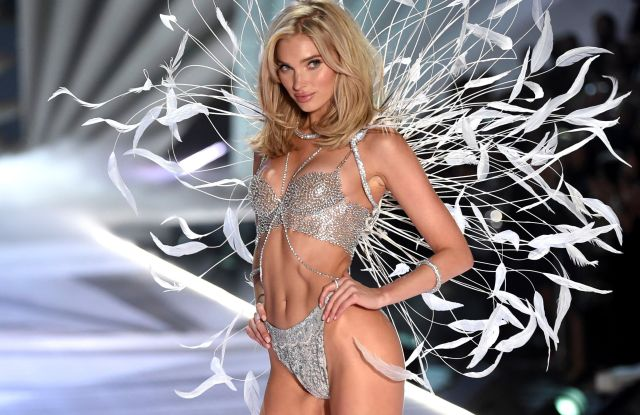 Elsa Hosk walks the runway during the 2018 Victoria's Secret Fashion Show at Pier 94, in New York2018 Victoria's Secret Fashion Show - Runway, New York, USA - 08 Nov 2018