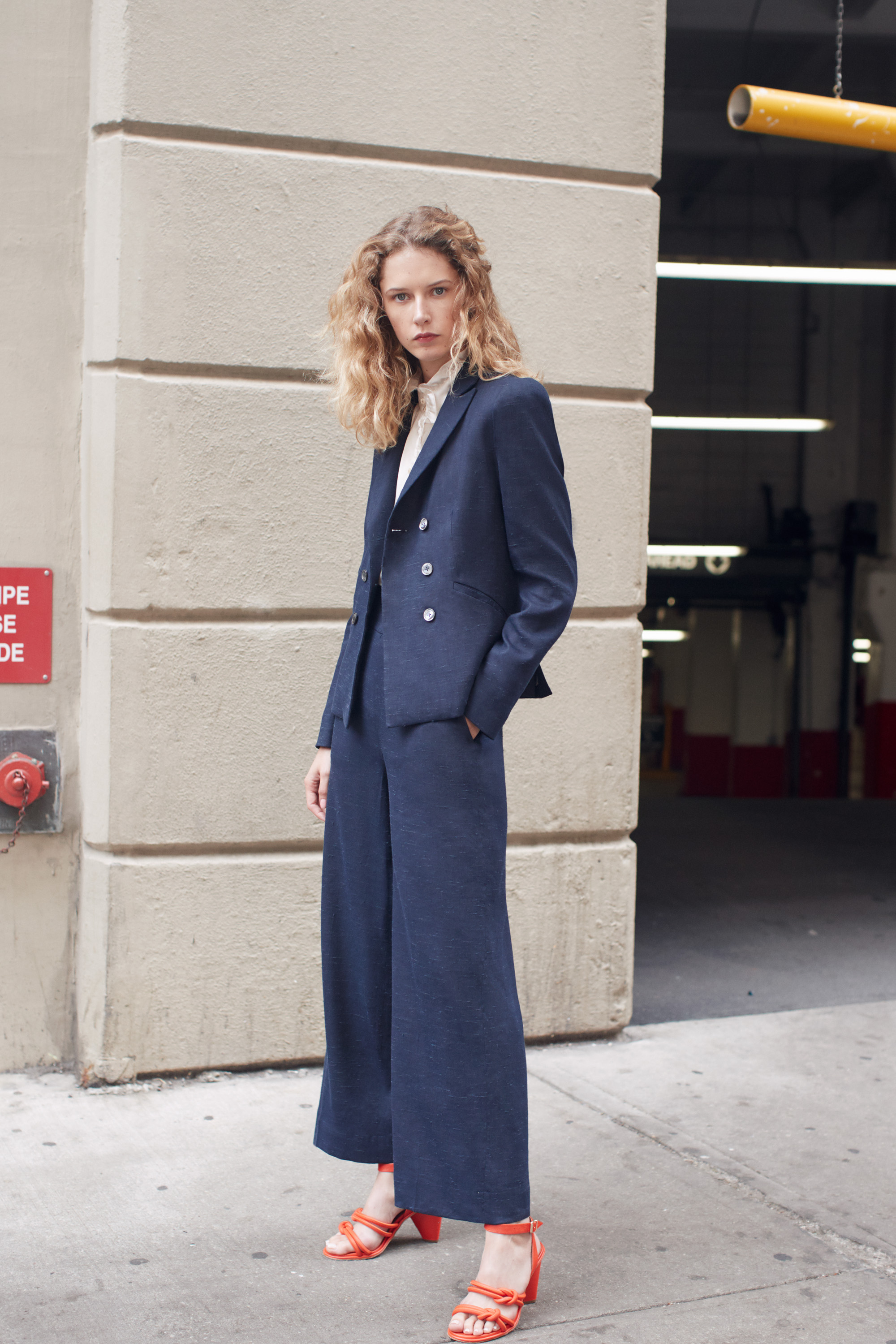 A look from Tailored Rebecca Taylor.
