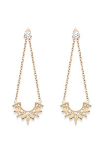 Piaget earrings from the Sunlight Collection