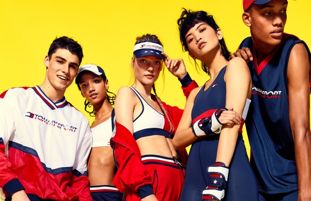 Some looks from Tommy Sport.