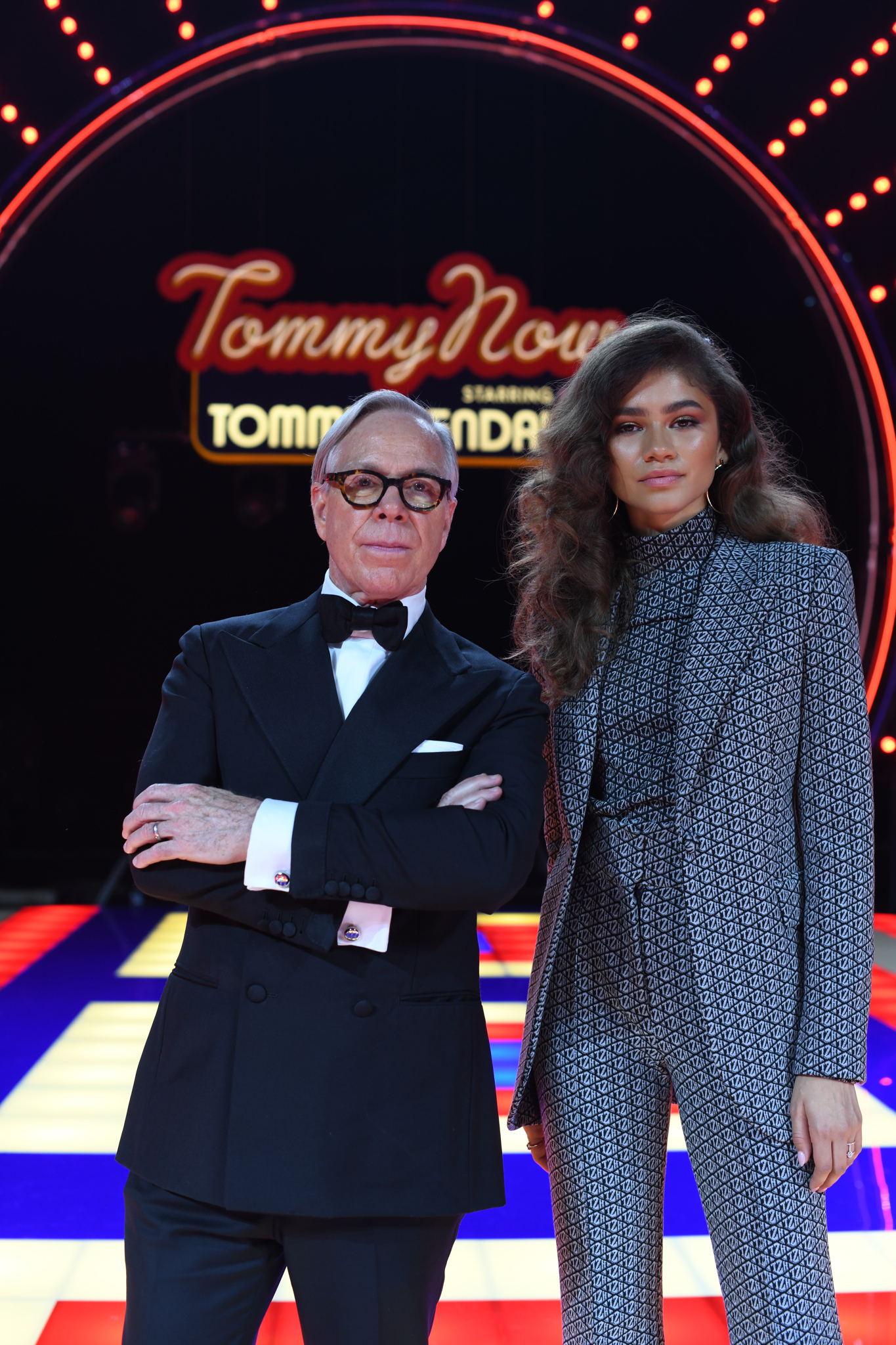 Tommy Hilfiger and Zendaya Coleman