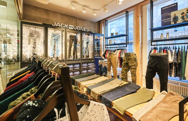 Jack & Jones is one of the brands owned by Bestseller.