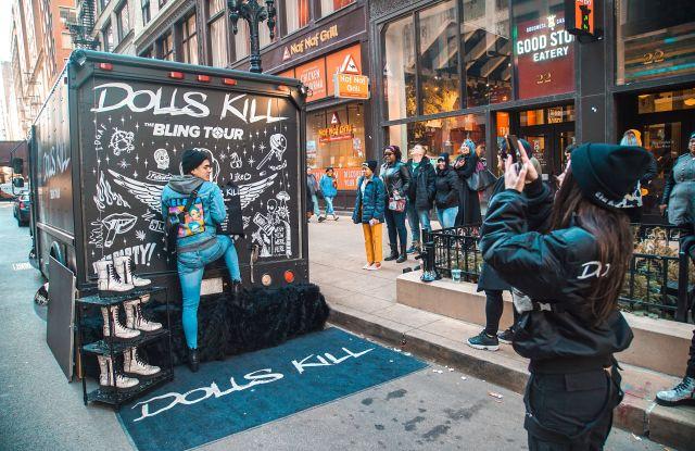 social media dolls kill branding