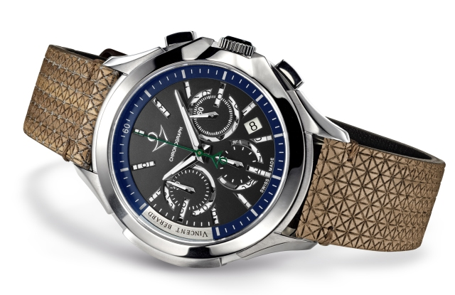 A timepiece from the Vincent Bérard eco-friendly brand.