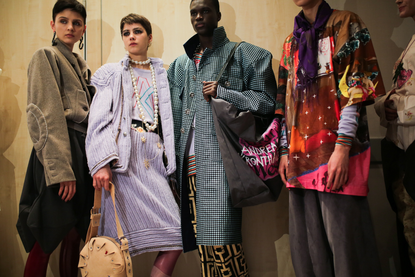 Backstage at Vivienne Westwood RTW Fall 2019