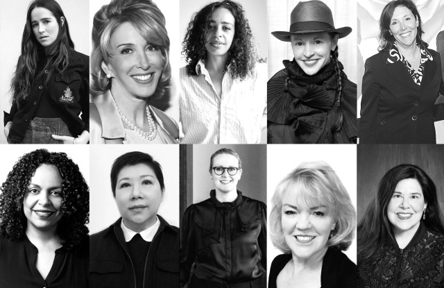 Some of the top women in the men's industry.