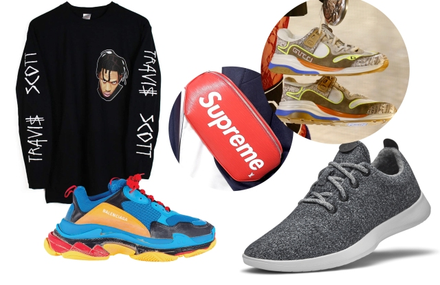 The streetwear aesthetic is still popular with young men.