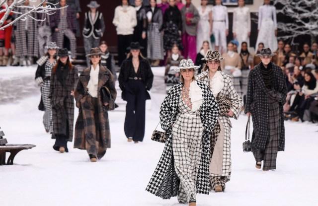 Cara Delevingne and models on the catwalkChanel show, Runway, Fall Winter 2019, Paris Fashion Week, France - 05 Mar 2019