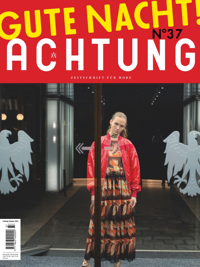 Achtung magazine cover