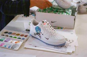 Nike Flyleather sneaker
