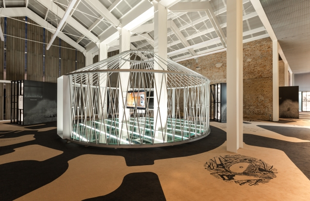 """The Tod's """"No Code Shelter"""" project at Milan Design Week."""