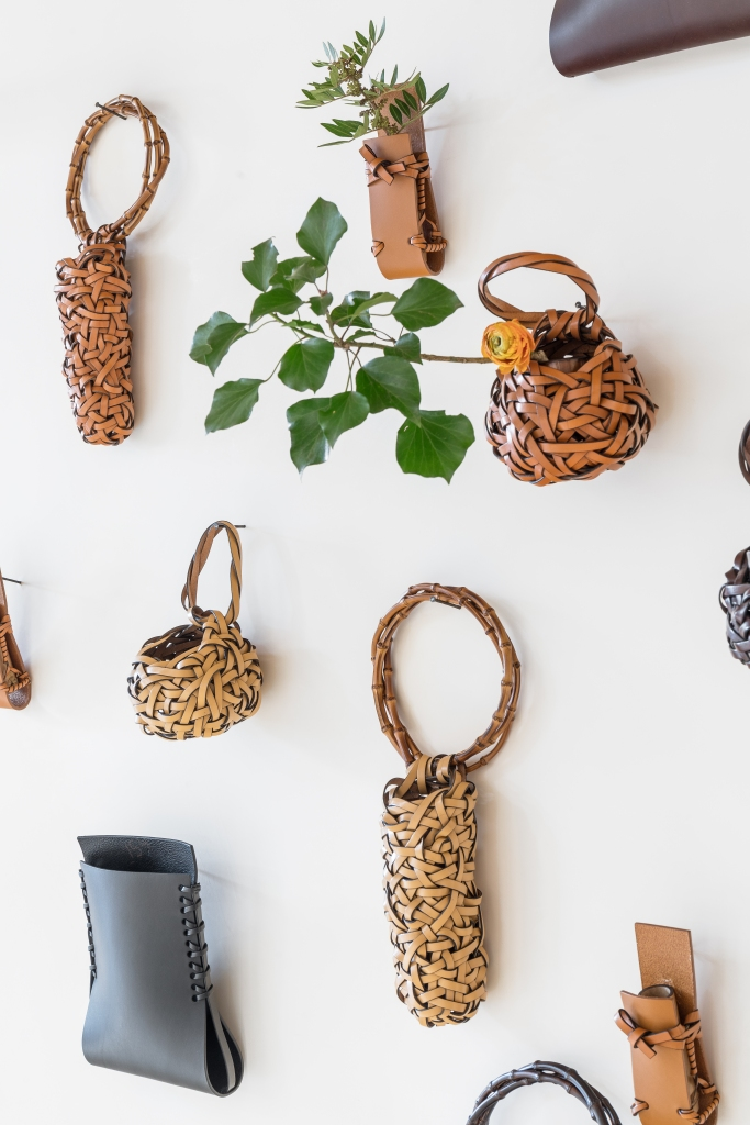 The Loewe Baskets project created for Milan Design Week.