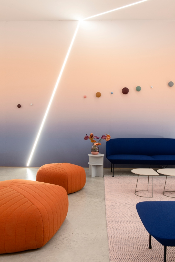 "Google's ""A Space for Being"" project during Milan Design Week."
