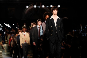 The Brooks Brothers show in Florence.