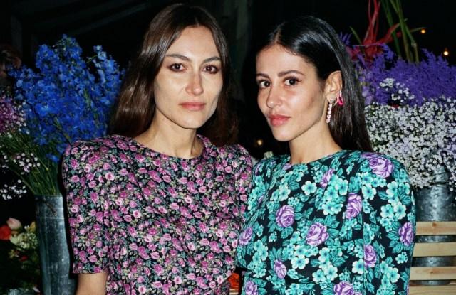 Attico designers Giorgia Tordini, left, and Gilda Ambrosio