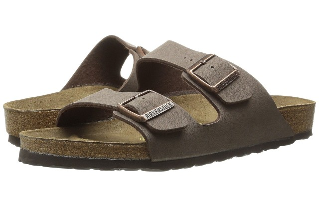 A pair of Birkenstocks.