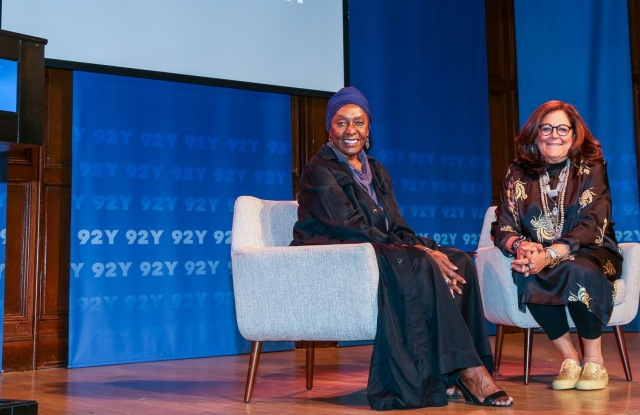 Bethann Hardison and Fern Mallis