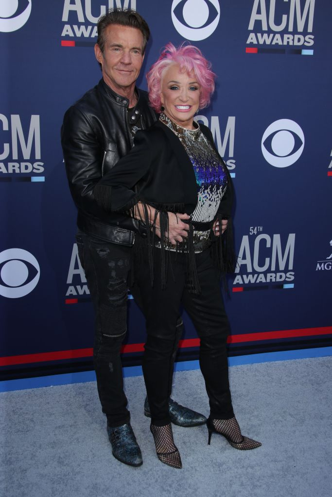 Tanya Tucker and Dennis Quaid54th Annual ACM Awards, Arrivals, Grand Garden Arena, Las Vegas, USA - 07 Apr 2019