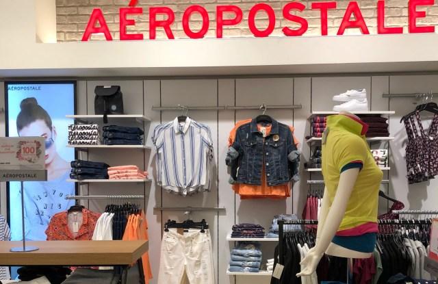 Aéropostale at Boyner in Turkey.