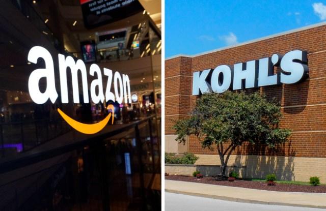 Amazon and Kohl's