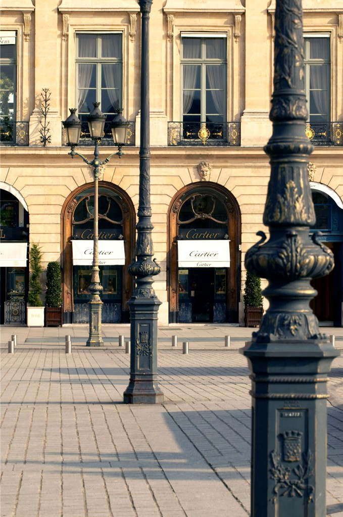 The Cartier flagship on Place Vendôme.