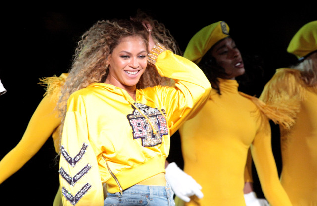 Beyonce Knowles Coachella Music and Arts Festival, Weekend 1, Indio, USA - 14 Apr 2018