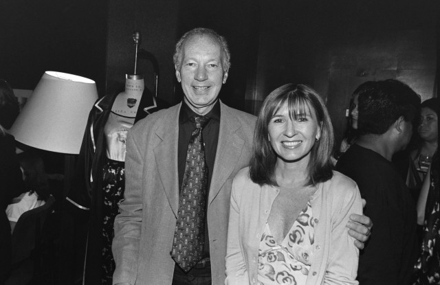 Bud Konheim and Nicole Miller in the early days.
