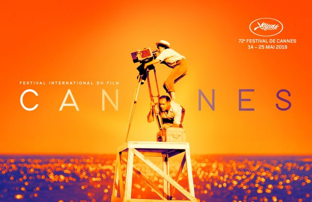 official poster for the 72nd Cannes Film Festival