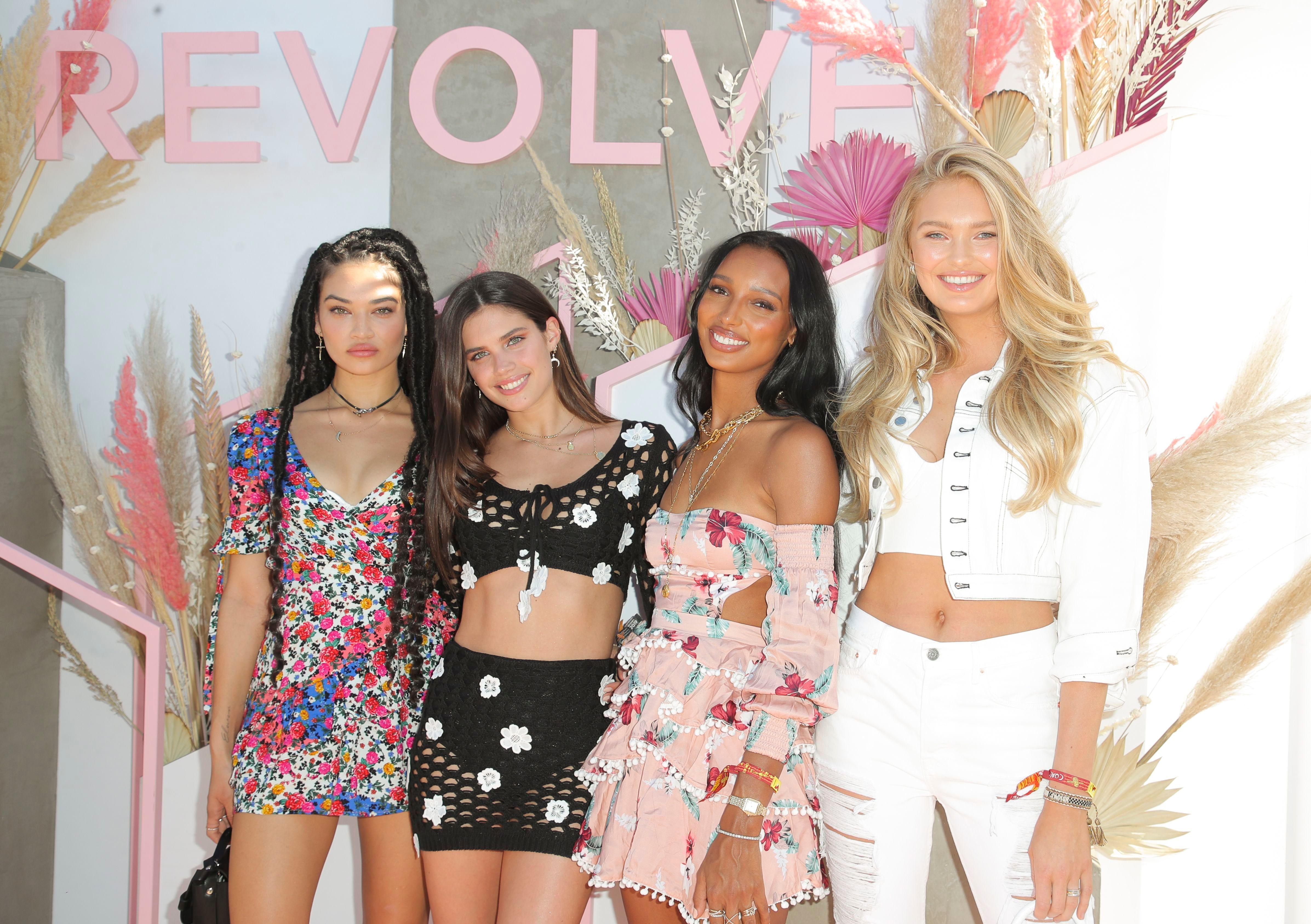 Shanina Shaik, Sara Sampaio, Jasmine Tookes and Romee Strijd