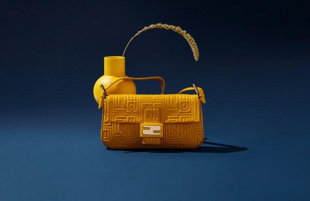 A Fendi Baguette handbag from The RealReal.