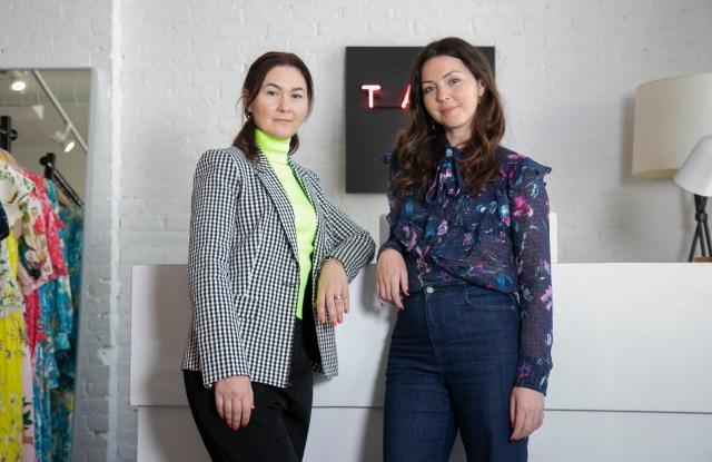 Crystal Slattery and Tanya Taylor