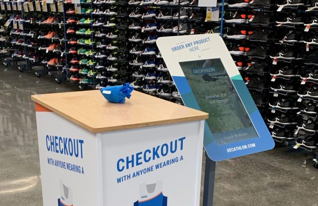 Decathlon has partnered with NewStore on its new hi-tech Emeryville, Calif. store.