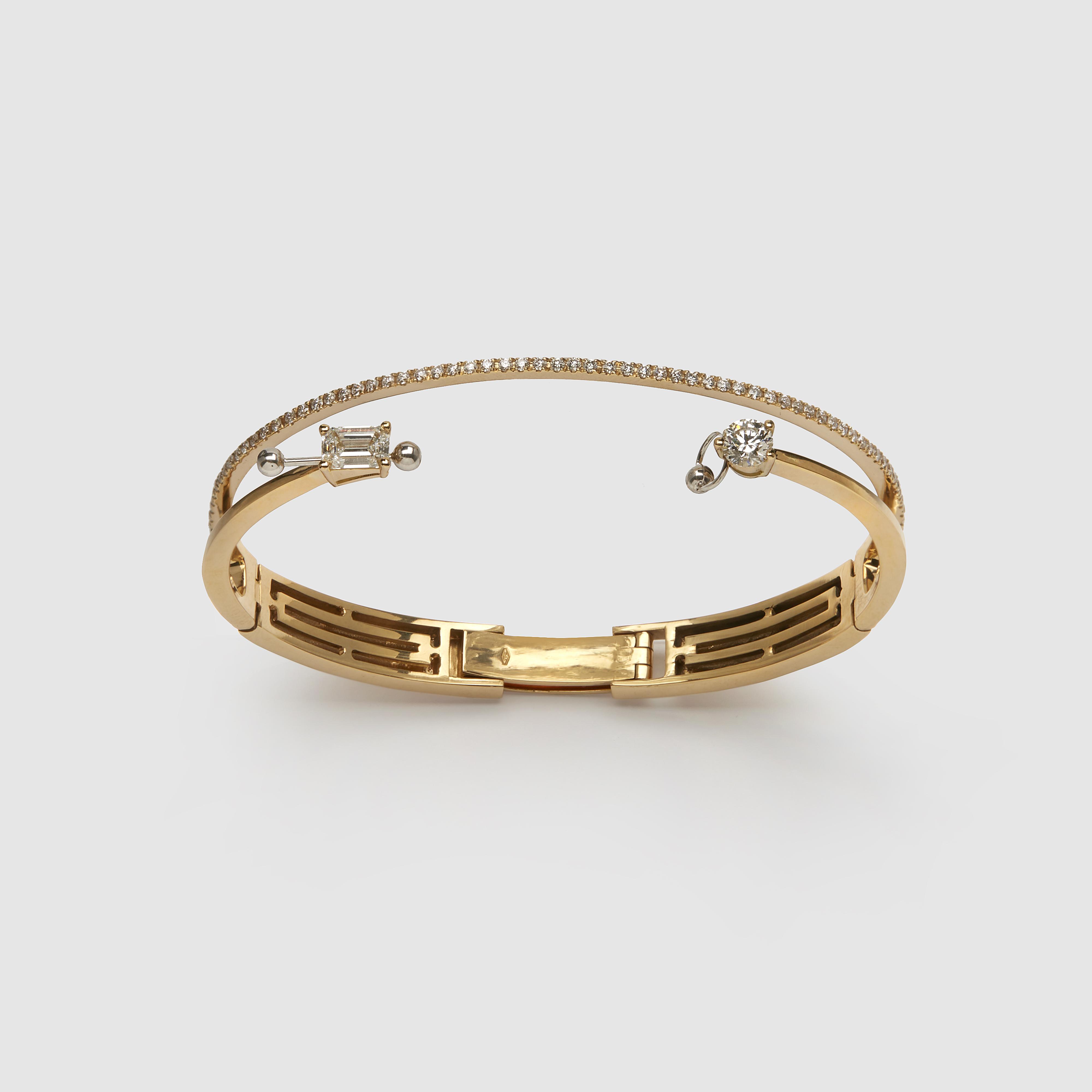 A bracelet by Delfina Delettrez Fendi.