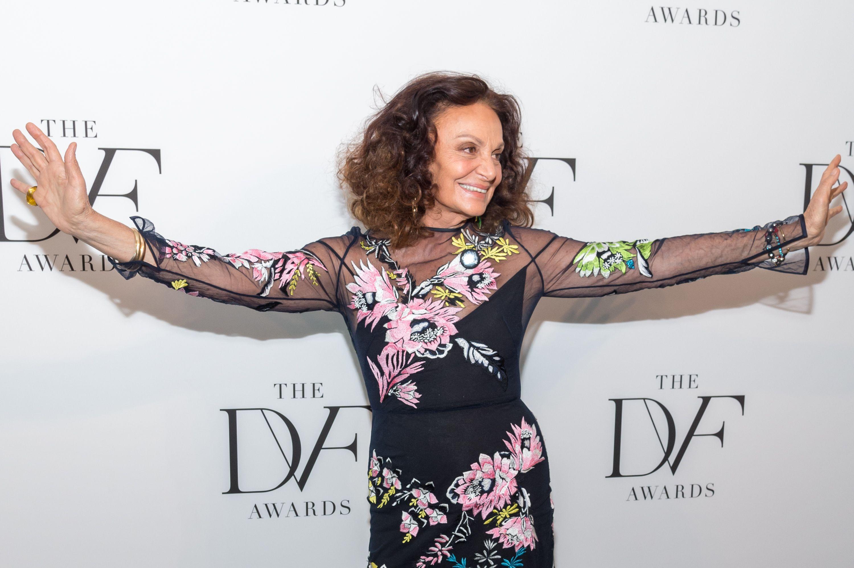 Diane von Furstenberg 9th Annual DVF Awards, Arrivals, New York, USA - 13 Apr 2018