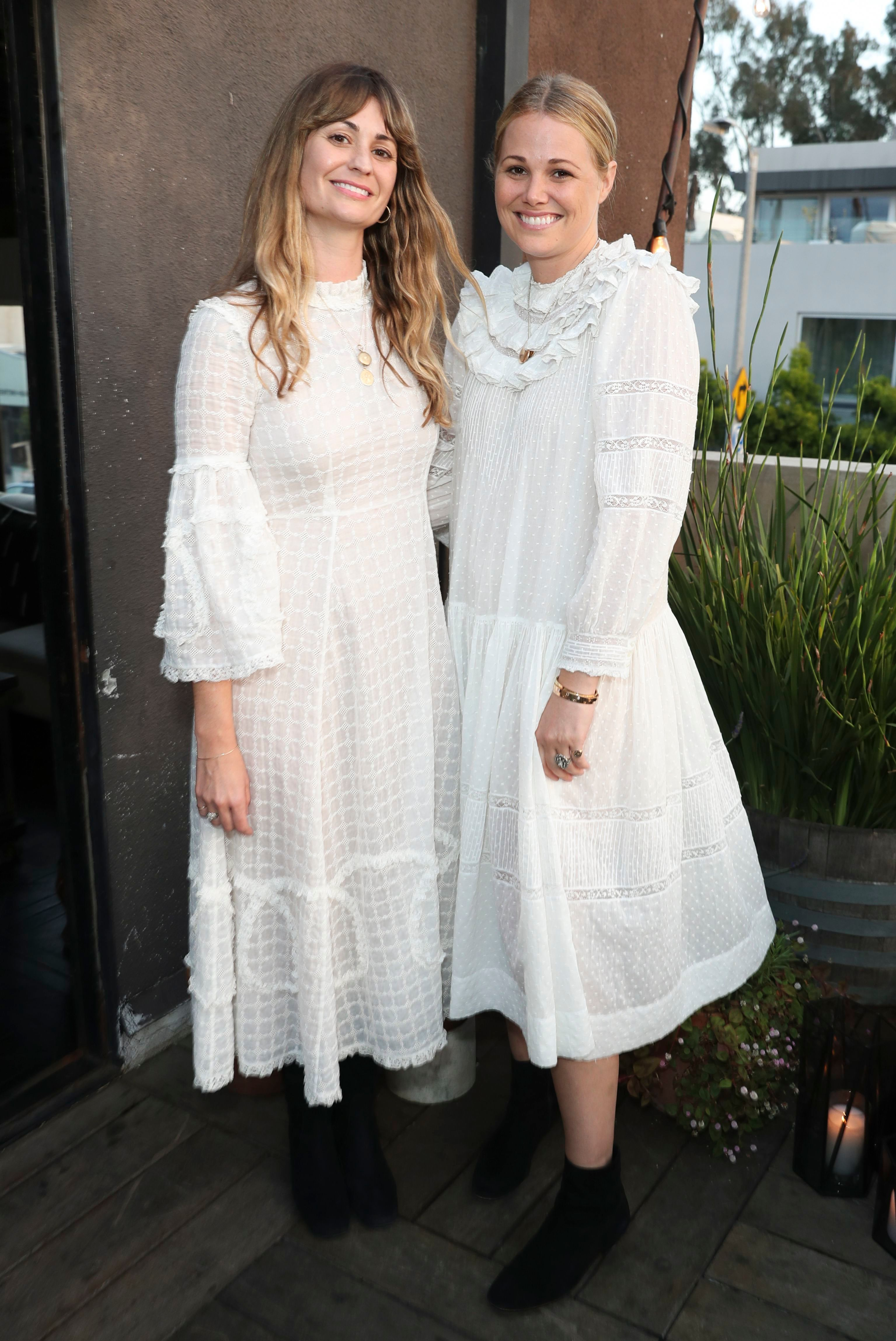 Margaret Kleveland and Katherine KlevelandNET-A-PORTER Doen Dinner, Gjelina, Los Angeles, USA - 29 Apr 2019