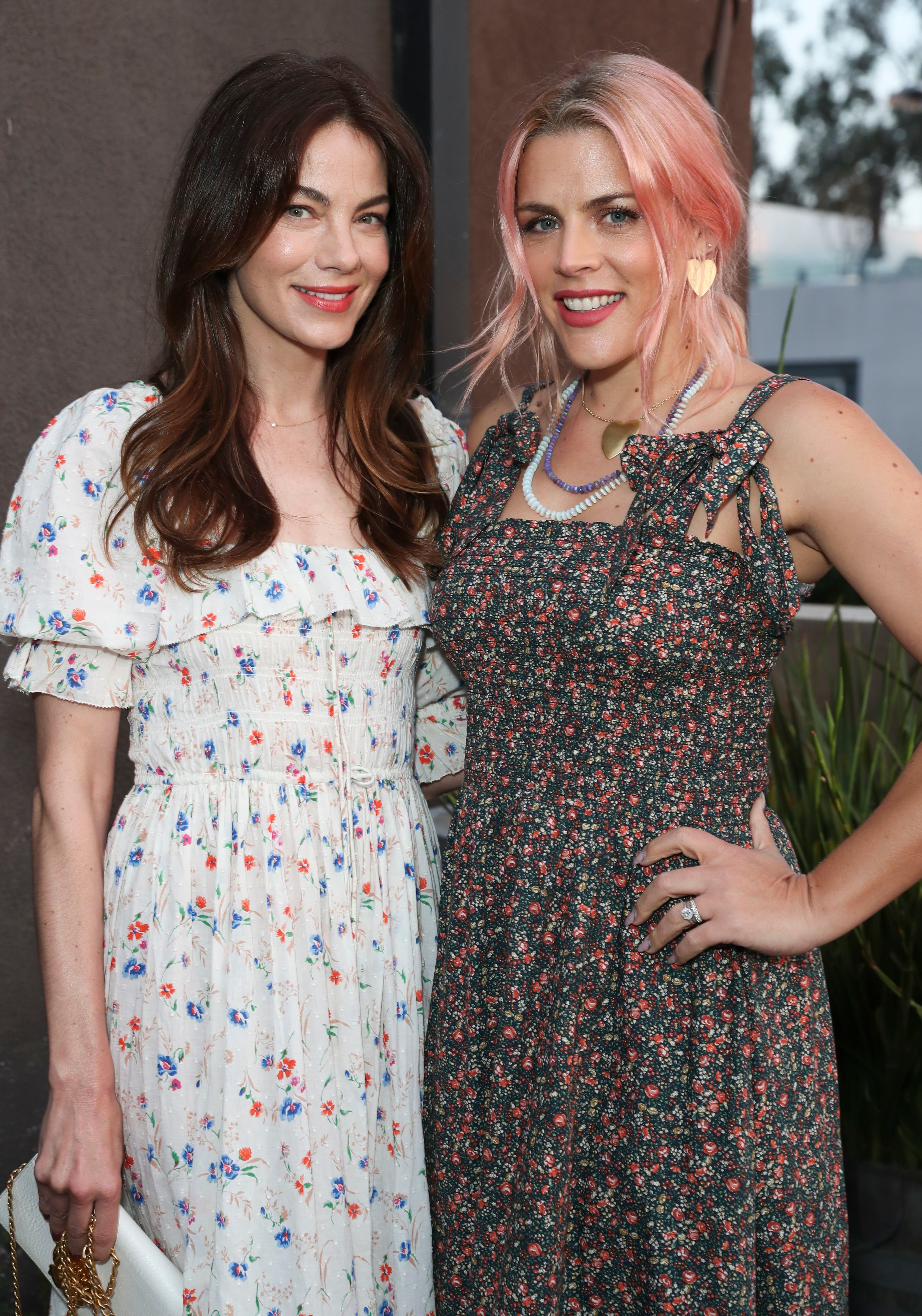 Michelle Monaghan and Busy PhilippsNET-A-PORTER Doen Dinner, Gjelina, Los Angeles, USA - 29 Apr 2019