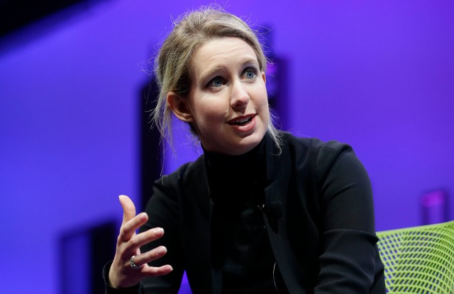 Elizabeth Holmes Elizabeth Holmes, founder and CEO of Theranos, speaks at the Fortune Global Forum in San Francisco. Forbes announced on June 1, 2016, that it has revised its estimate of Holmes net worth from $4.5 billion to nothingElizabeth Holmes Forbes Estimate, San Francisco, USA