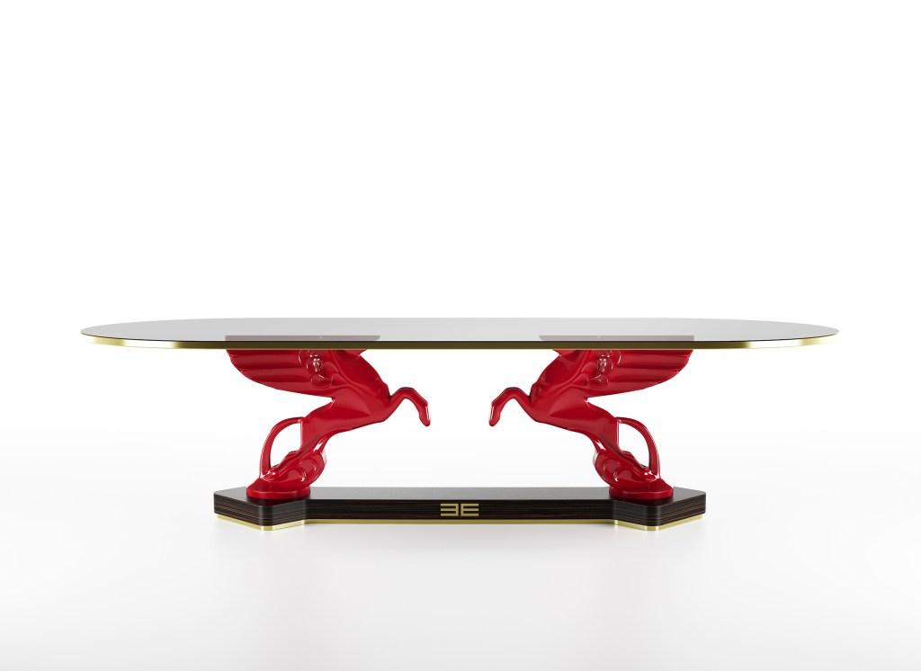 Etro's Mythos dining table.