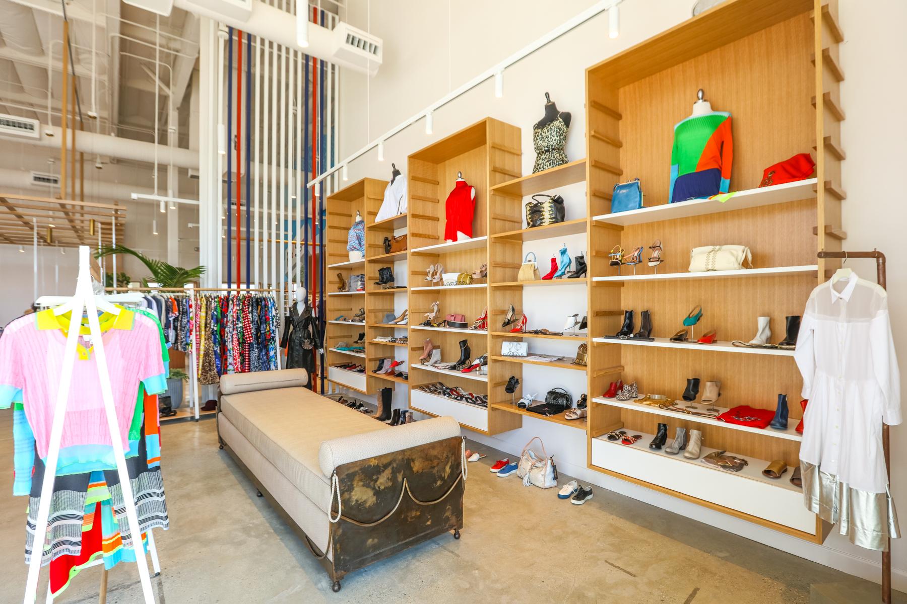 The Fred Segal store in Malibu.