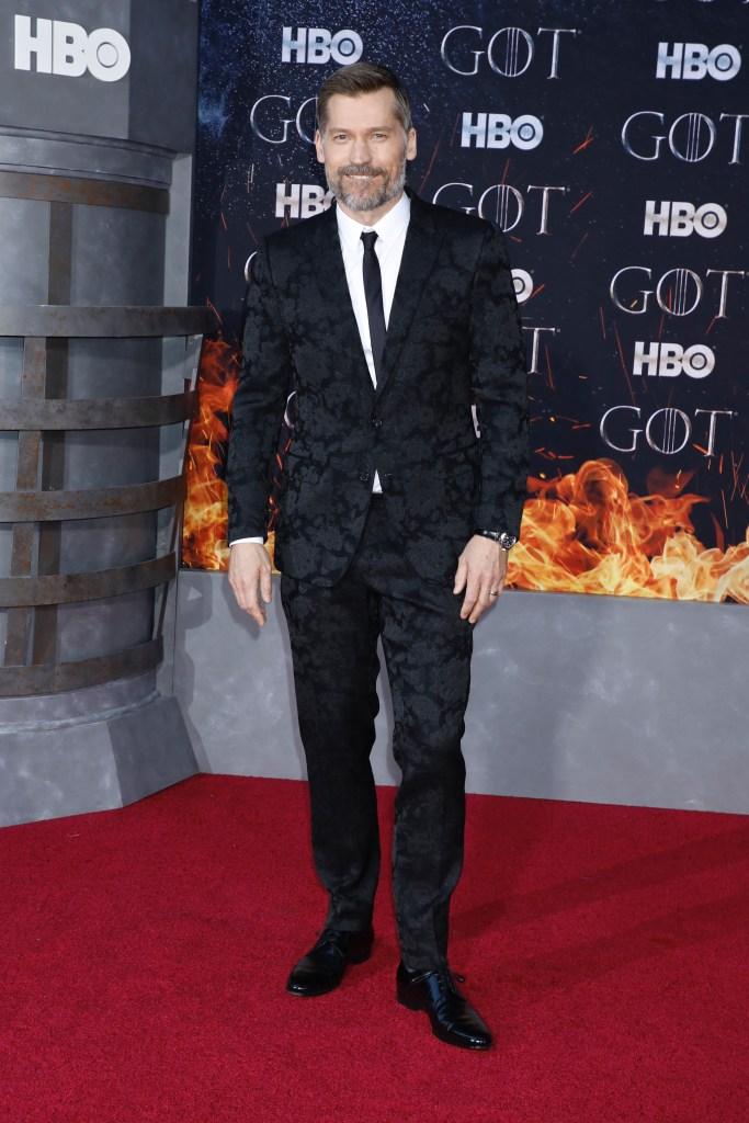 Nikolaj Coster-Waldau'Game of Thrones' season eight premiere, Arrivals, New York, USA - 03 Apr 2019