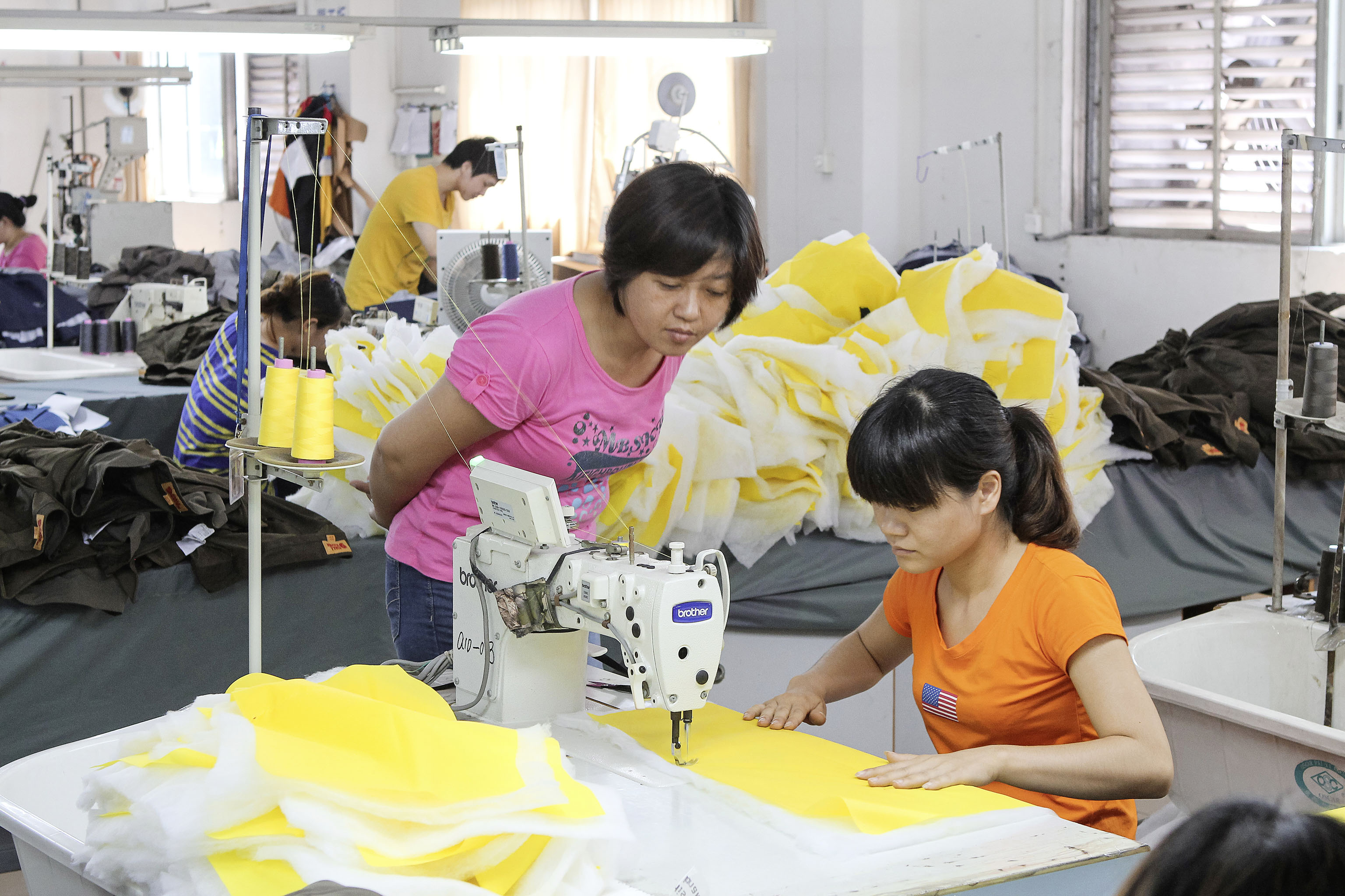 Chinese production for German label Vaude, a company that has been working on making its supply chains sustainable since 2001.