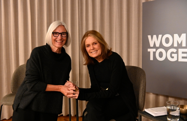 Eileen Fisher and Gloria Steinem