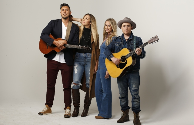 Gone West: Justin Young, Colbie Caillat, Nelly Joy and Jason Reeves.