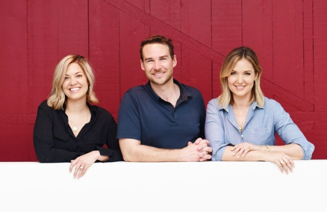Heartbeat coo and cofounder Kate Edwards, Heartbeat ceo and cofounder Brian Freeman, and Ivka Adam, cmo of Heartbeat and Iconery ceo and founder.