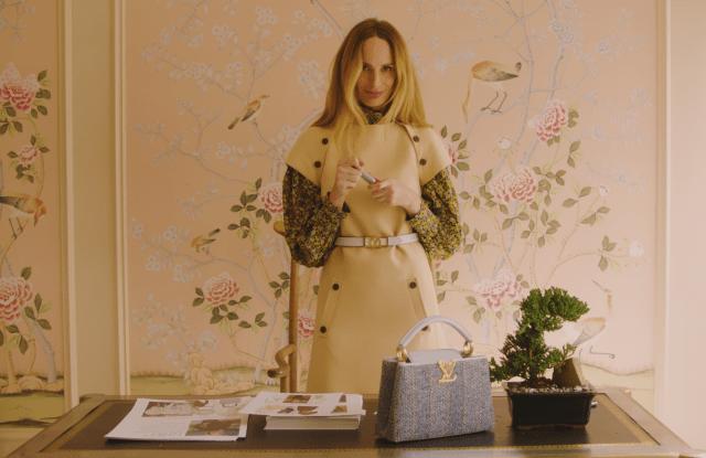 Lauren Santo Domingo and the Louis Vuitton Capucines.