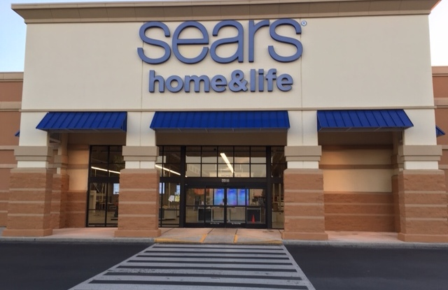 Sears plans to open three new Home & Life stores in May.