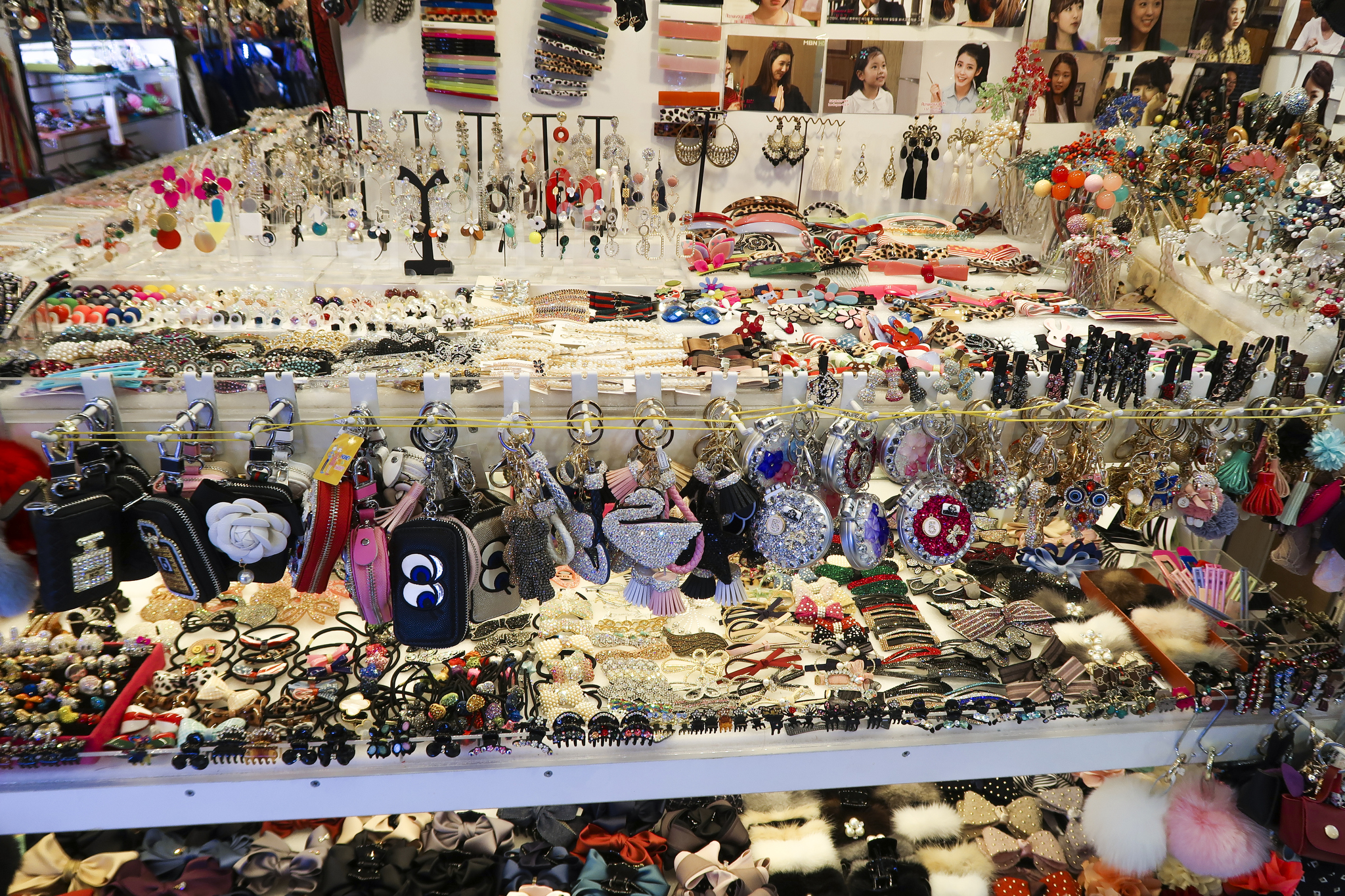 Accessories on offer at Dongdaemun.