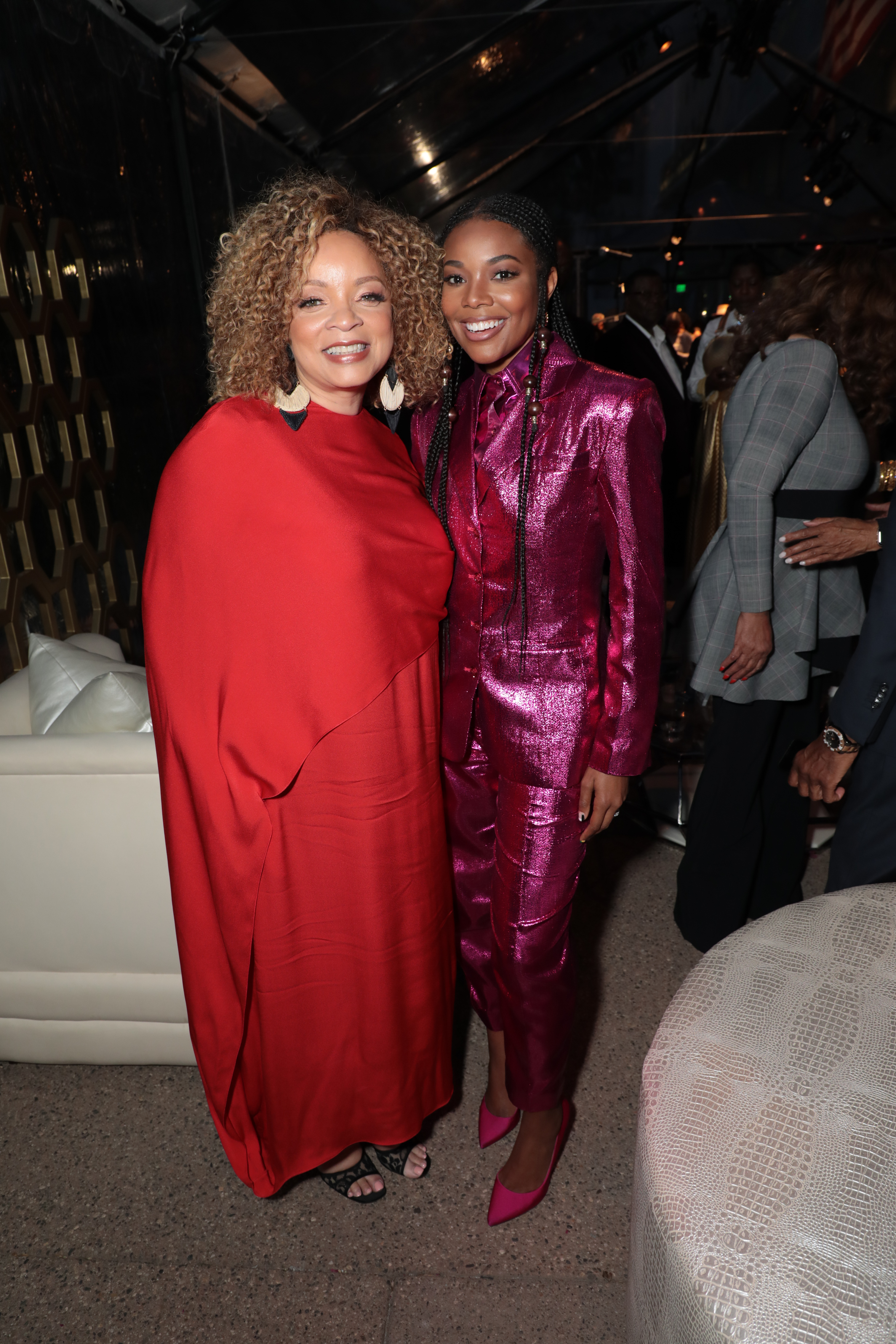 Ruth E. Carter, Black Design Collective Honoree and Academy Award Winning Costume Designer for ÒBlack PantherÓ and Gabrielle Union attend the Black Design CollectiveÕs 1st Annual Scholarship Tribute, honoring Ruth E. Carter, at FIDM, Fashion Institute of Design & Merchandising in Los Angeles, CA on Saturday, April 13, 2019. (Photo: Alex J. Berliner/ABImages)