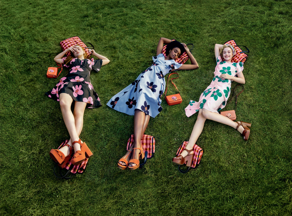 The Kate Spade Spring 2019 Ad Campaign.