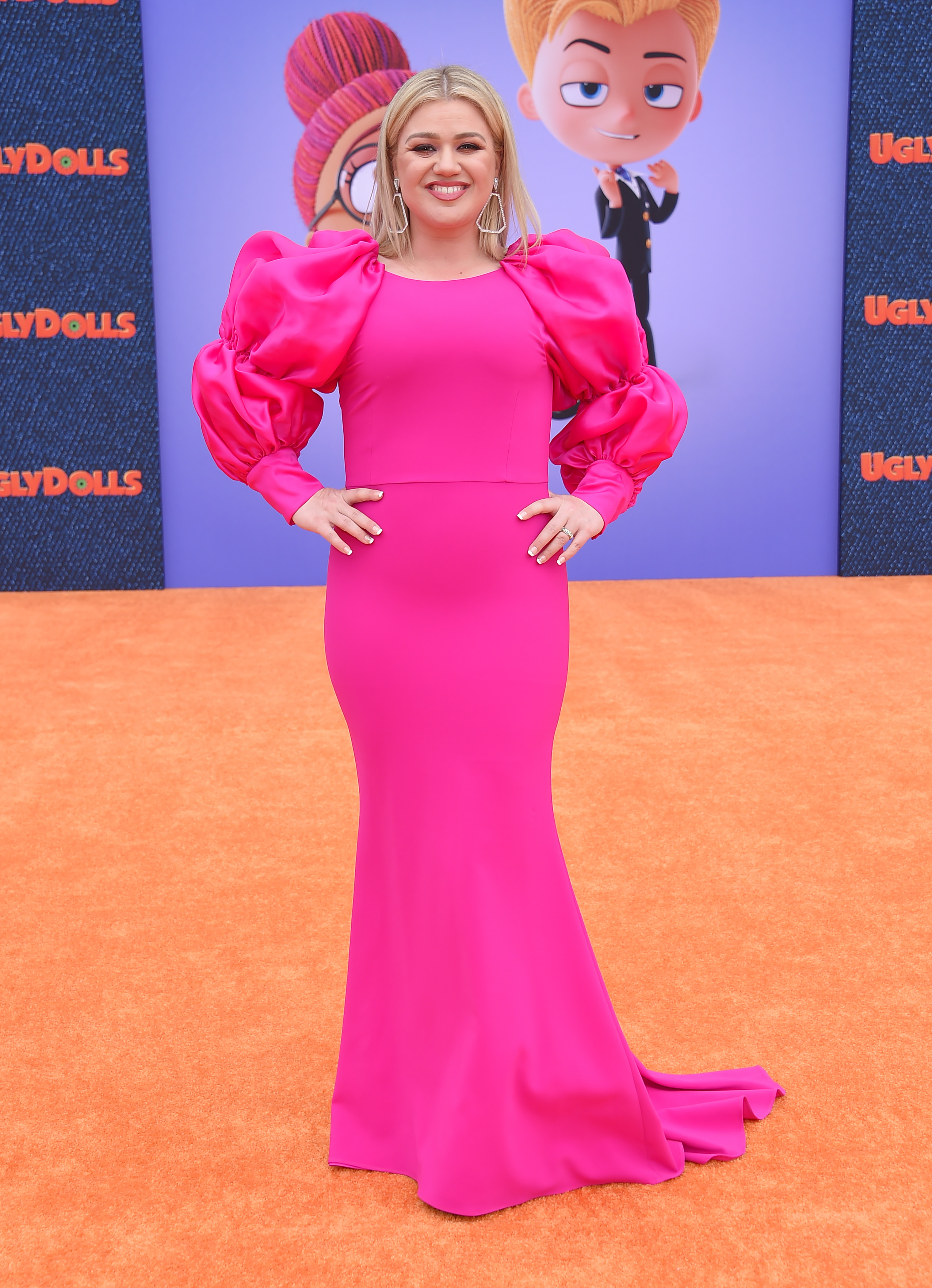 Kelly Clarkson at the 'UglyDolls' film premiere.